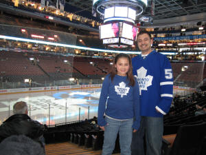 Air Canada Centre, Toronto Maple Leafs - Frozen Pond Pilgrimage