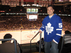 Hans Steiniger - Frozen Pond Pilgrimage, Air Canada Center Toronto Maple Leafs