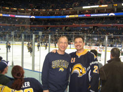 Hans and Hans on the Frozen Pond Pilgrimage - HSBC Arena, Buffalo