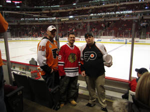 Chicago Blackhawks vs. Philadelphia Flyers - Frozen Pond Pilgrimage